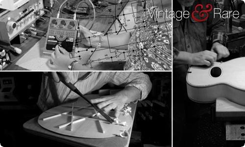Custom builders and Luthiers on VintageandRare