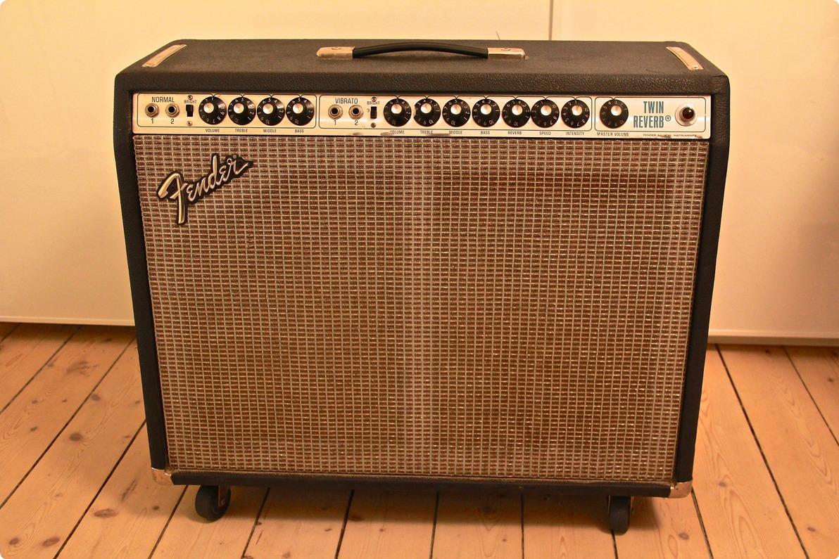 Vintage Fender Twin Reverb zum Verkauf
