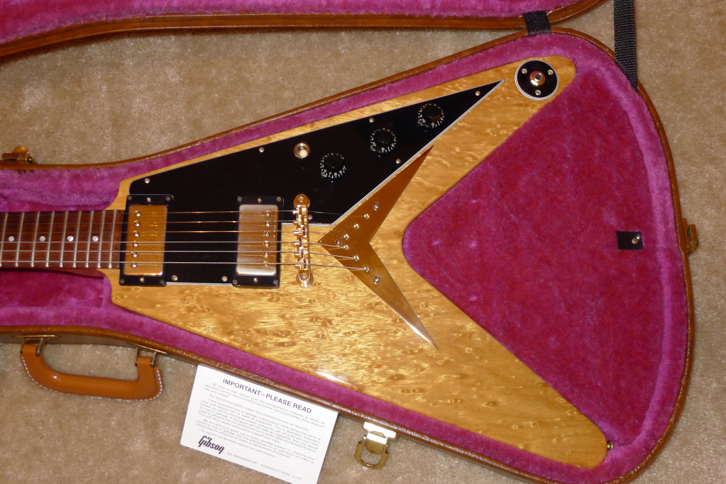 gibson flying v 1981 korina guitar for sale. Black Bedroom Furniture Sets. Home Design Ideas