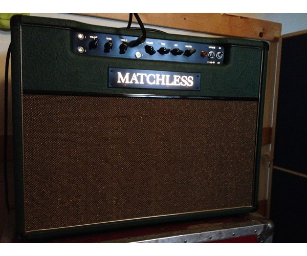Matchless DC30 / DC 30 2008 Custom Color Green Amp For Sale