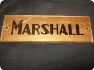 Marshall Plexi Jtm 45 Logo 1965