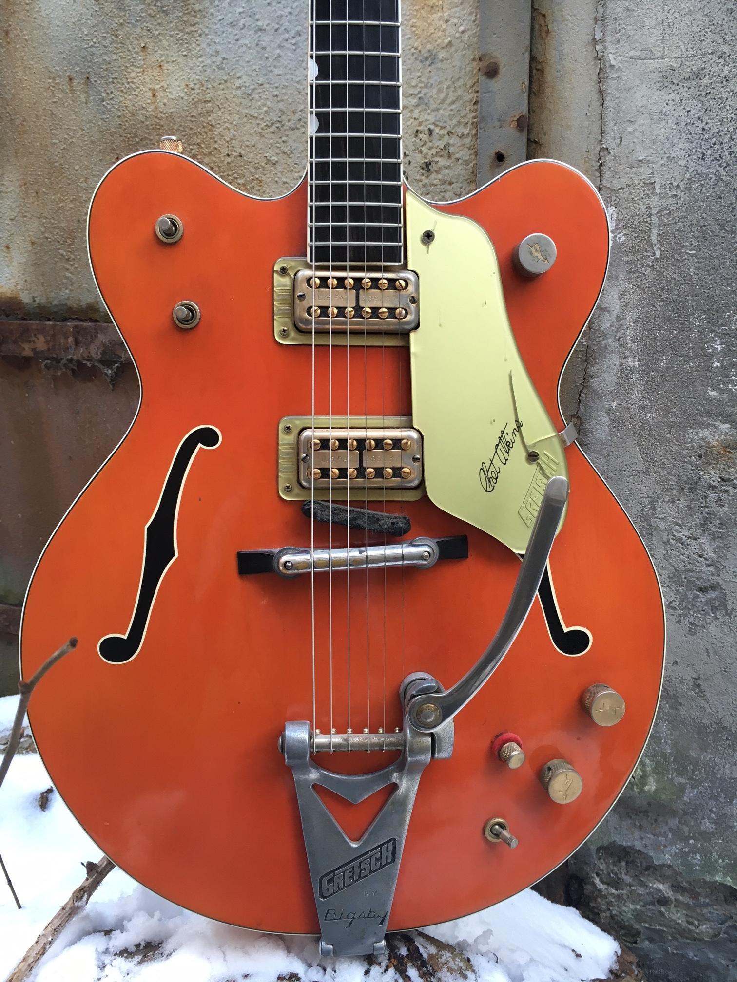 gretsch 6120 chet atkins nashville 1964 guitar for sale. Black Bedroom Furniture Sets. Home Design Ideas