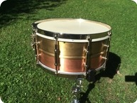 AK Drums 6 12 X14 10 Lug 2013 COPPERBRASS
