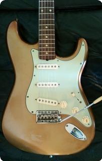 Fender Shoreline Gold Stratocaster 1962 Shoreline Gold