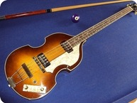 Hofner Hfner 5001 Beatlebass 1964 Brownshaded