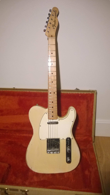 Vintage Fender Telecaster For Sale 113