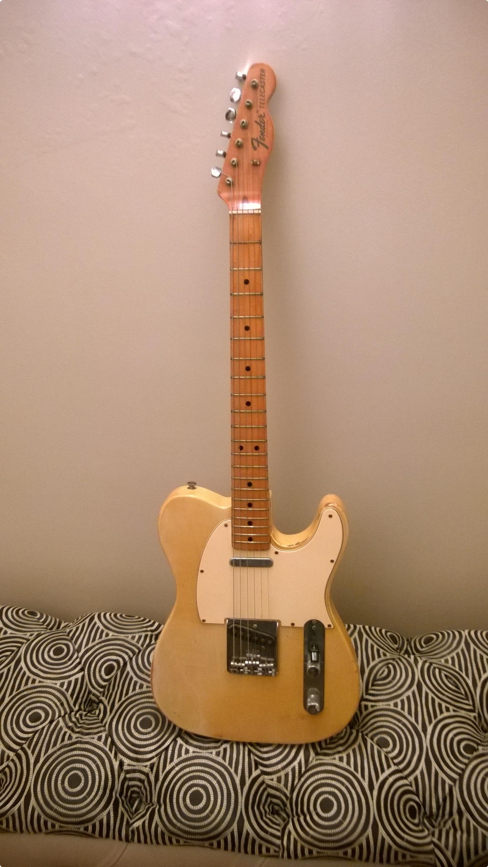 Vintage Fender Telecaster For Sale 40