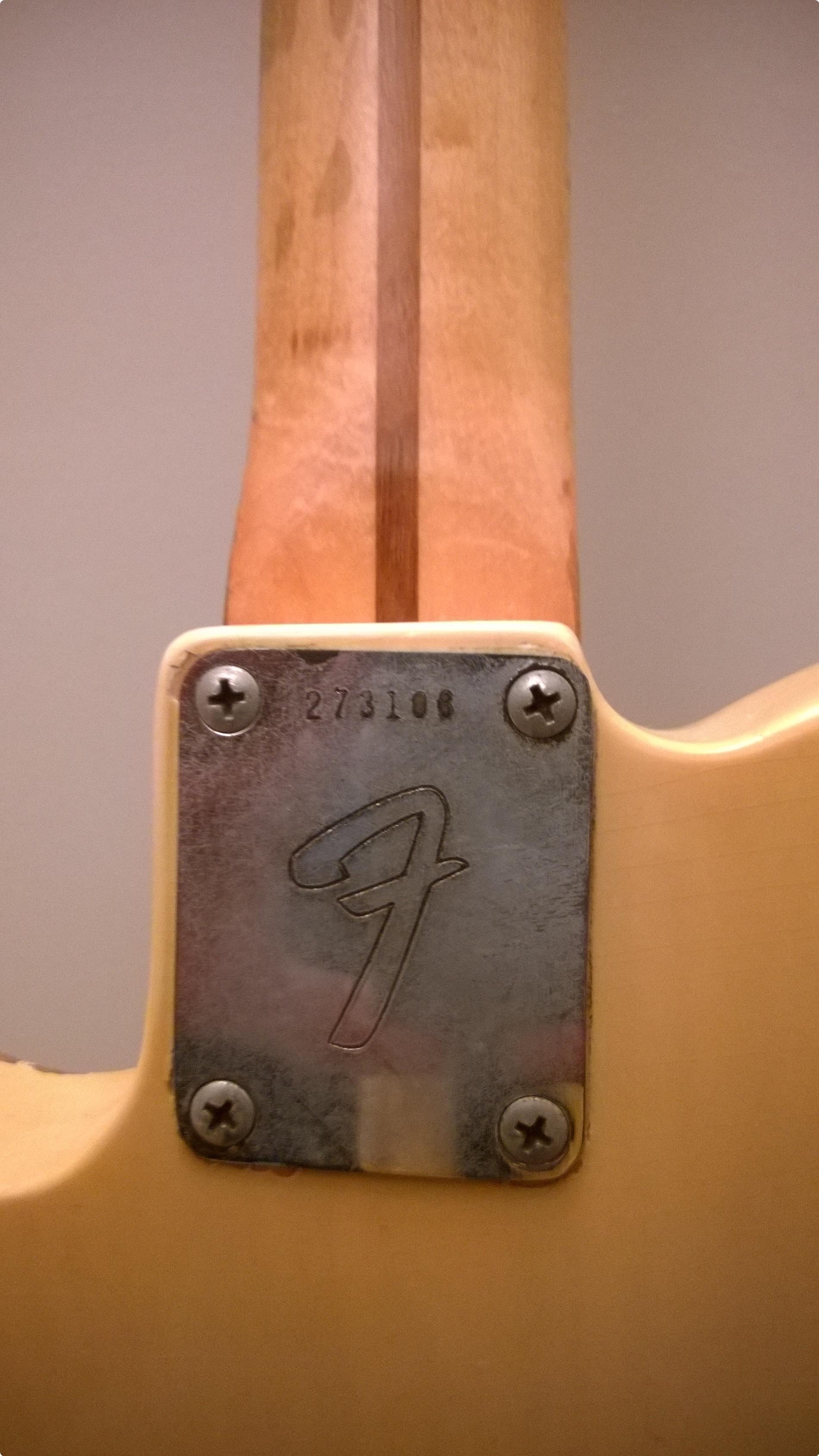 Vintage Fender Telecaster For Sale 51
