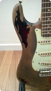 Fender  Stratocaster Rory Gallagher Relic Custom Shop 2004 2004 Relic