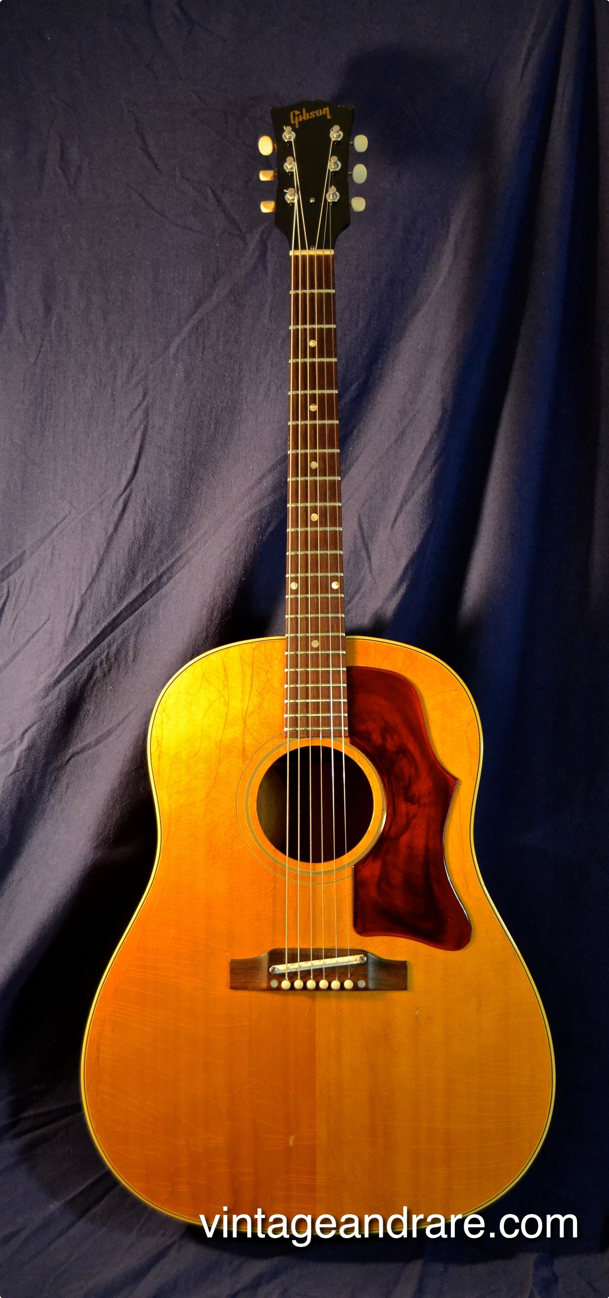 gibson j 50 1965 natural guitar for sale. Black Bedroom Furniture Sets. Home Design Ideas