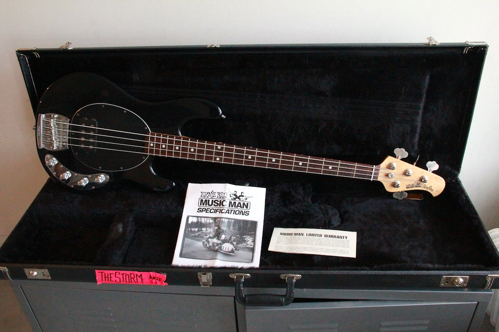 music man stingray 4 string bass 1995 bass for sale. Black Bedroom Furniture Sets. Home Design Ideas