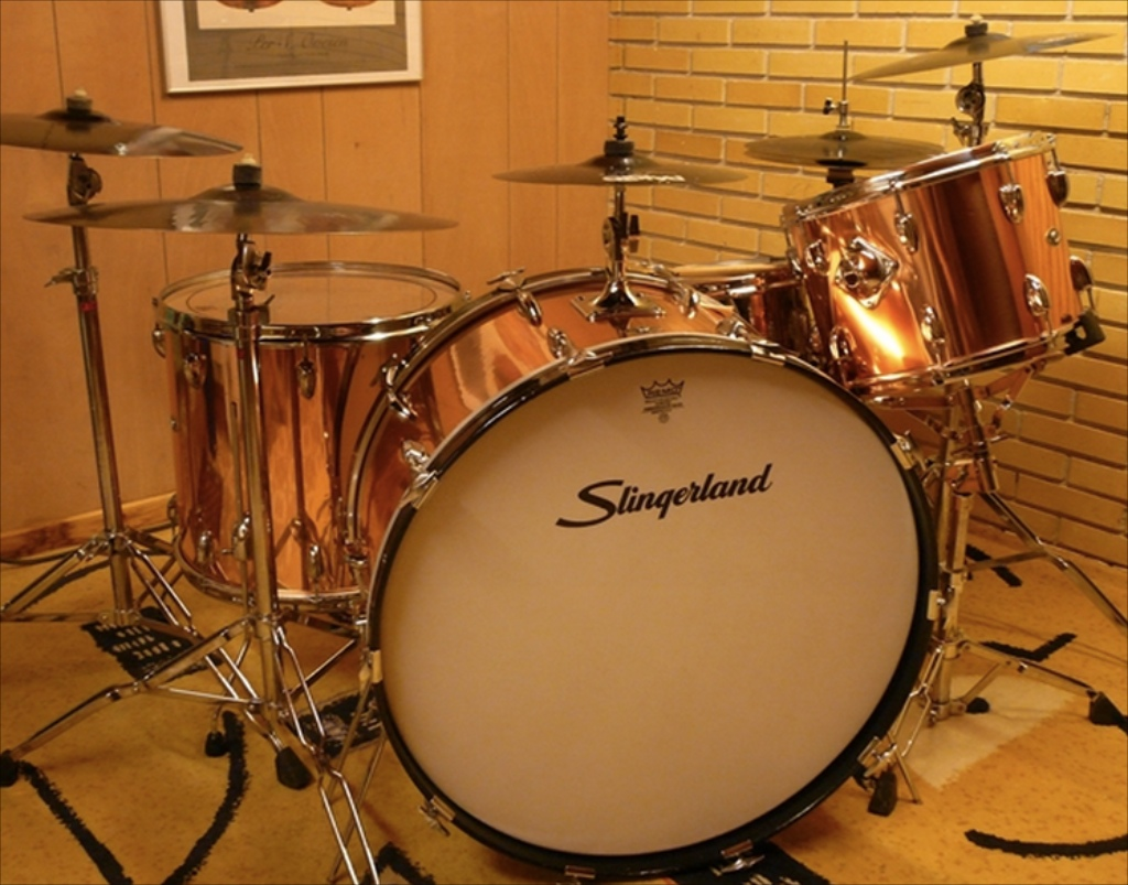 slingerland concorde 26 14 18 1971 drum percussion for sale. Black Bedroom Furniture Sets. Home Design Ideas