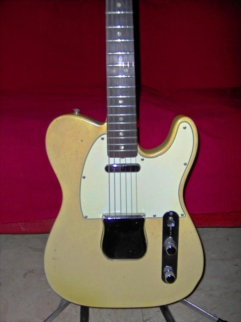 fender telecaster 1966 blonde guitar for sale. Black Bedroom Furniture Sets. Home Design Ideas