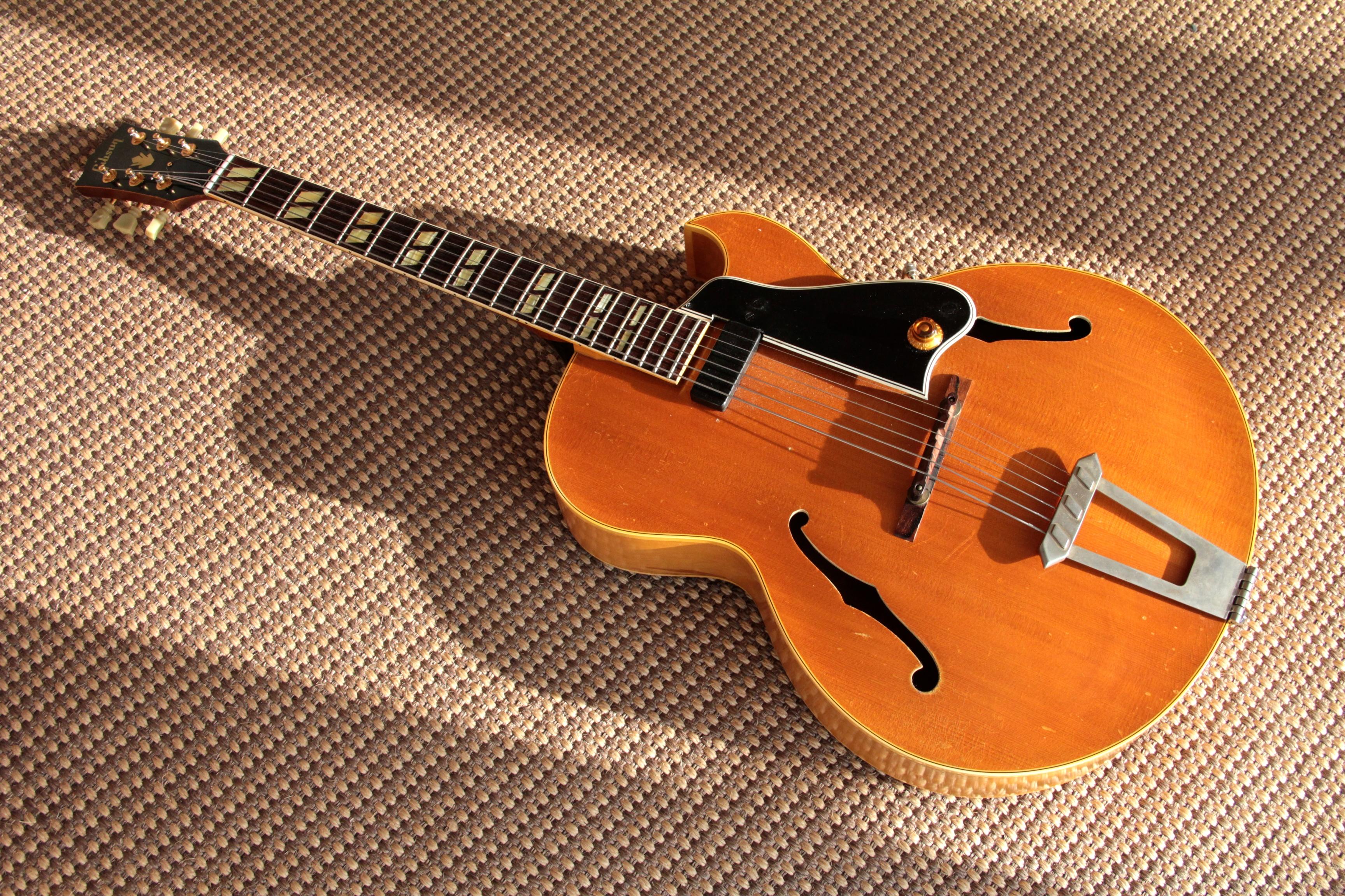 gibson l4 1958 guitar. Black Bedroom Furniture Sets. Home Design Ideas