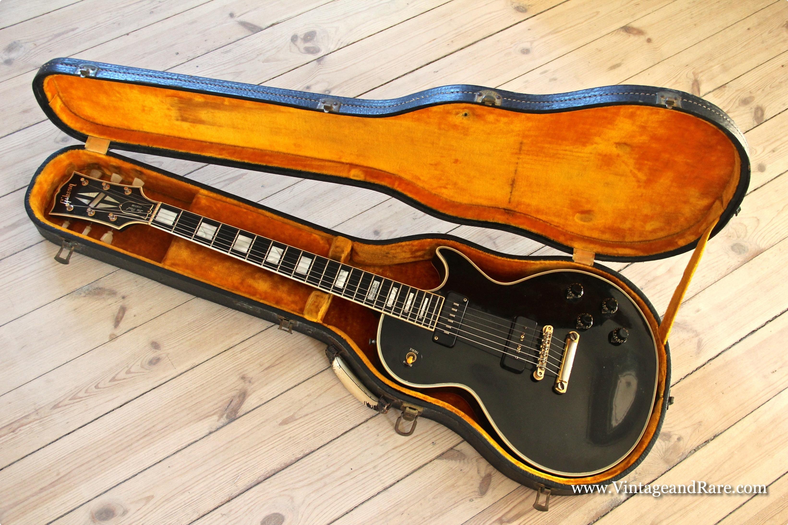 gibson les paul custom 1957 black beauty guitar for sale. Black Bedroom Furniture Sets. Home Design Ideas