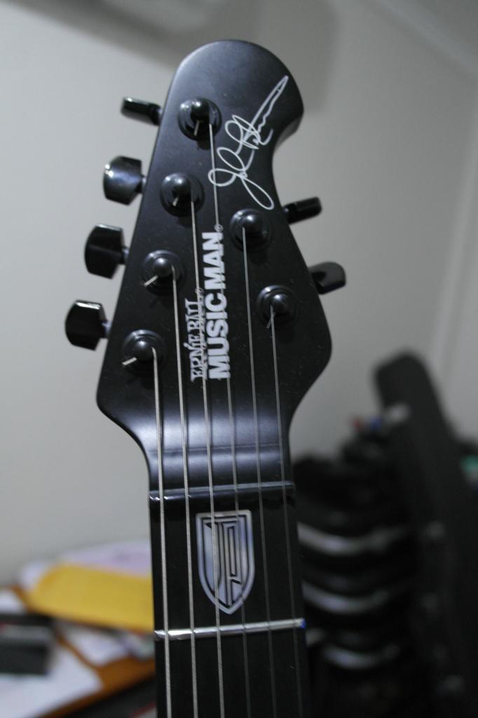 music man jp6 black stealth 2010 39 s guitar. Black Bedroom Furniture Sets. Home Design Ideas