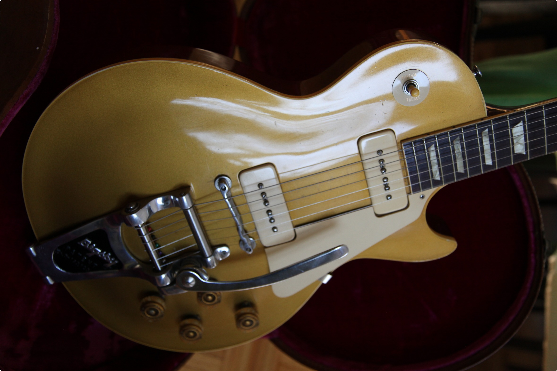 gibson les paul gold top 1953 gold top guitar for sale. Black Bedroom Furniture Sets. Home Design Ideas