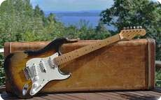 Fender STRATOCASTER 1956 Two Tone Sunburst