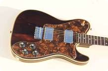 Pavel Maslowiec Brazilian Rosewood Tele Nitrocellulose Lacquer