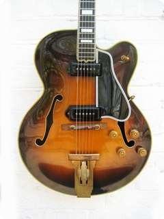 Gibson L5 Ces 1952 Sunburst Guitar For Sale New Kings Road