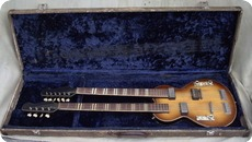Hofner Double Neck 191 1961 Sunburst