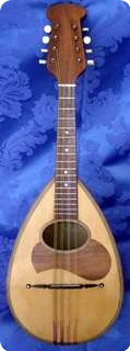 F.lli Vinaccia Mandolin 8 Strings 1927 Natural
