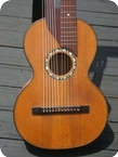 NO NAME German Style Harp Guitar 1920 Spruce Top
