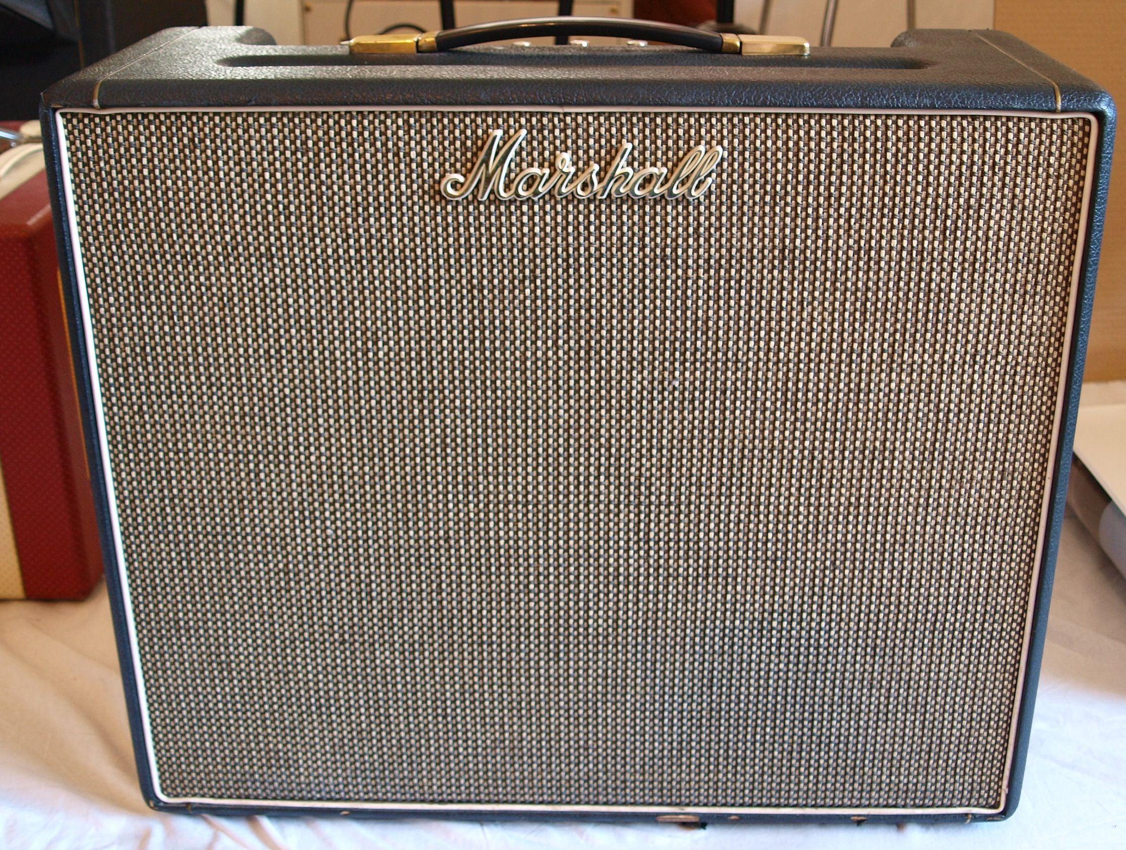 Marshall Combo 1969 Black Amp For Sale Guitaravenue Ltd