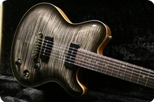 Nik Huber Guitars Dolphin II P90 2011 Charcoal Burst