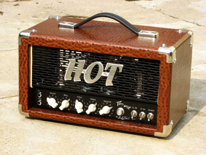 hot amps two way boutique guitar mini head 10w el34 6l6gc 2010 39 s customized amp for sale hot amps. Black Bedroom Furniture Sets. Home Design Ideas