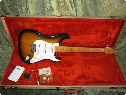 Fender Stratocaster Fullerton '57 Vintage Reissue 1983 Sunburst