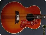 Gibson J 200 Artist 1976 Cherry Sunburst