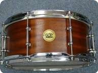 Hard Bop Custom Snaredrum 2011 Natural Mahogany