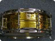 Ludwig USA Hammered Brass Snaredrum LB420BKT 2011