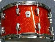 Ludwig Keystone Snaredrum 2011 Orange Glass Glitter