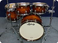 Dw USA Collectors Legacy Exotic Drumset Black Natural Burst Over Sumauma