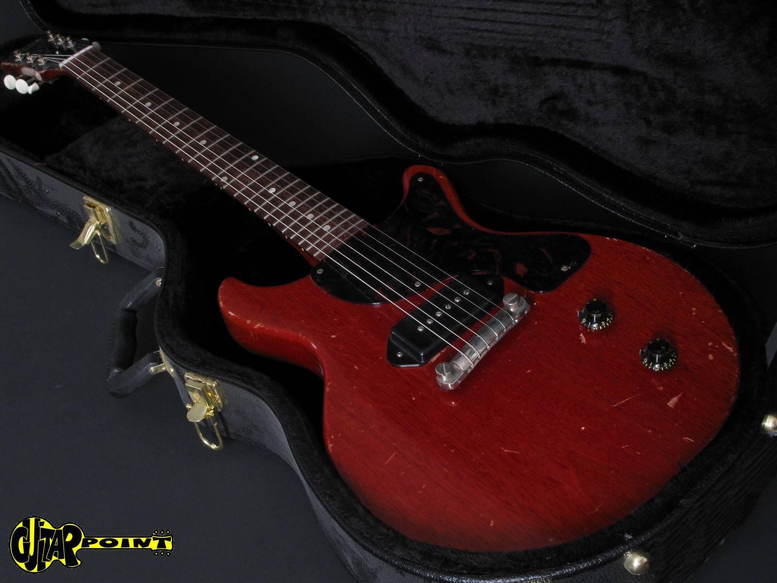gibson les paul junior 1959 cherry guitar for sale guitarpoint. Black Bedroom Furniture Sets. Home Design Ideas