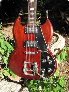 Gibson Sg Deluxe 1972 Cherry Red