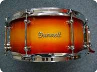 Dunnett Solid Maple Snaredrum Sunburst