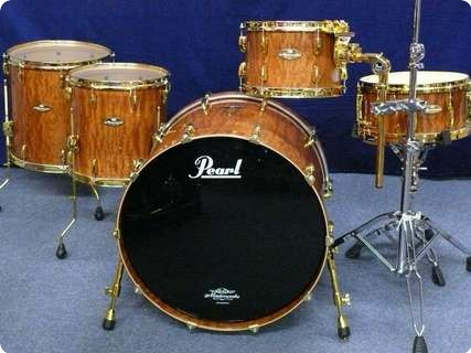 Pearl Pearl Masterworks Artisan Shellset Bubinga High Gloss