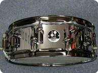 Sonor Sonor Artist Steel Black Snaredrum 2011 Polished Steel