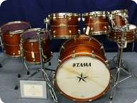 Tama Tama Starclassic Bubinga Limited Starclass Edition 2011 Natural Hawaian Koa With Mosaic Inlay