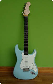 Fender Fender Stratocaster 62 Reissue Beatles Gear Sonic Blue