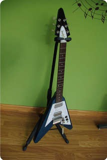 Gibson Flying V '67 Reissue (mod) Metallic Blue