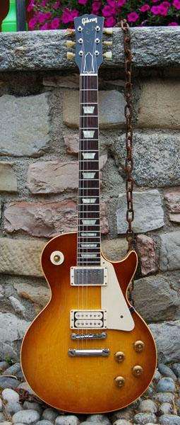 gibson les paul standard 1959 sunburst guitar for sale real vintage. Black Bedroom Furniture Sets. Home Design Ideas