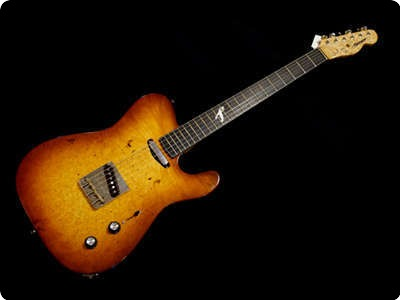 Fibenare Guitars Roadmaster 56 2011 Tobacco Burst