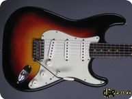 Fender Stratocaster 1963 3 Tone Sunburst
