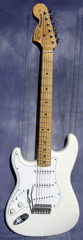 fender jimi hendrix signature model limit edition 1997 white guitar for sale hendrix guitars. Black Bedroom Furniture Sets. Home Design Ideas