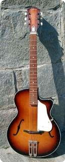 Egmond One Cut Harrison 1950 Sunburst