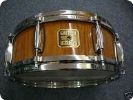 Gretsch USA Custom Snaredrum Limited Edition 2006 2006 Natural Walnut High Gloss